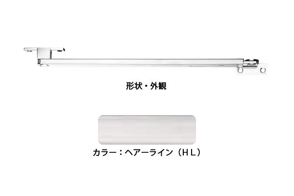 6本入 エイト ドアストッパー(SUS製) ZG3021HL(ヘアライン) 高受Z型 ‐