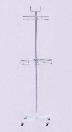アラカルト サークル二段掛 AL-CW 幅46cm 高さ170cm 日本製 国産 組立不要 完成品 すぐ使える 送料無料 代引手数料無料 頑丈なパイプハンガーラック