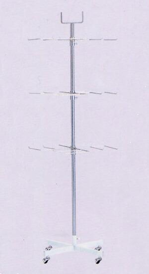アラカルト 卍三段掛け AL-MT 幅48.5cm 高さ170cm 日本製 国産 組立不要 完成品 すぐ使える 送料無料 代引手数料無料 頑丈なパイプハンガーラック