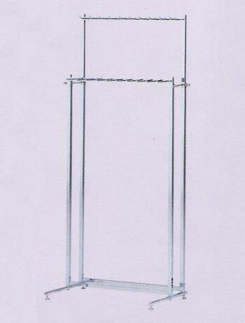 【受注生産品】ベルトフック21角 AL-BH21幅60cm 高さ160cm 日本製 国産 組立不要 完成品 すぐ使える 送料無料 代引手数料無料 の頑丈なベルト展示用ラック