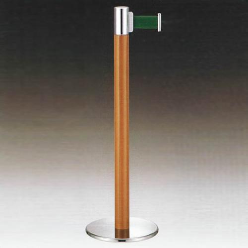 ベルトパーティション (フロアガイドポール )ベルトタイプ GY513 木目塗装 スタート日本製 国産 送料無料代引無料 取付簡単仕切り 青 赤 緑 茶(全4色 )2m 高さ90cm