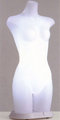 ST861 Lady's 日本製 国産 送料無料 代引き手数料無料 光効果で商品が中から際立つ! 電飾トルソー マネキン レディース ボディ 高さ 86cm ディスプレイ 高級 スタイリッシュ デパート アパレル 什器