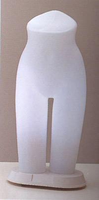 ST157 Lady's 日本製 国産 送料無料 代引き手数料無料 光効果で商品が中から際立つ! 電飾トルソー マネキン レディース ボトム 高さ 68cm ディスプレイ 高級 スタイリッシュ デパート アパレル 什器