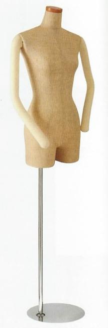 SL880F-1C トルソー マネキン レディース ボディ フロアボディ 送料無料 代引手数料無料 お店のディスプレイ 服をきれいに見せる 高級 スタイリッシュ デパート アパレル 什器