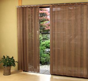 燻製竹カーテン BW-906SW200 x H135cm【smtb-k】【ky】
