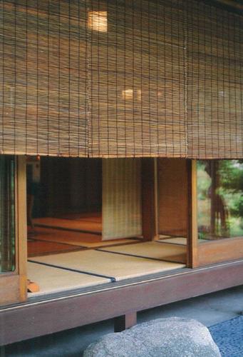 琵琶湖すだれ 二枚桟綾織 代萩大寸 幅88cm x 高さ約160cm
