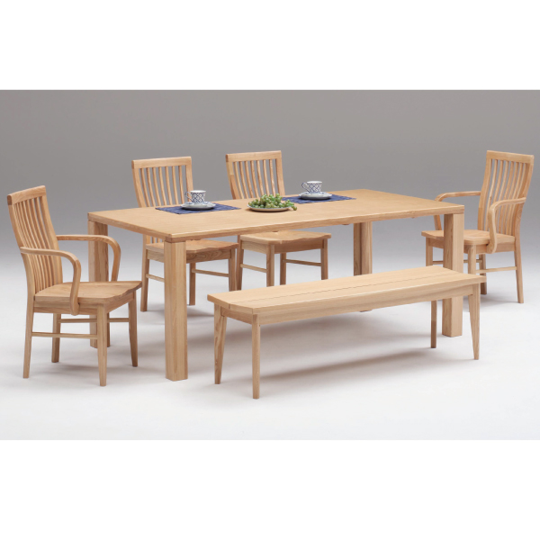 bigriver Rakuten Global Market Walnut dining table only
