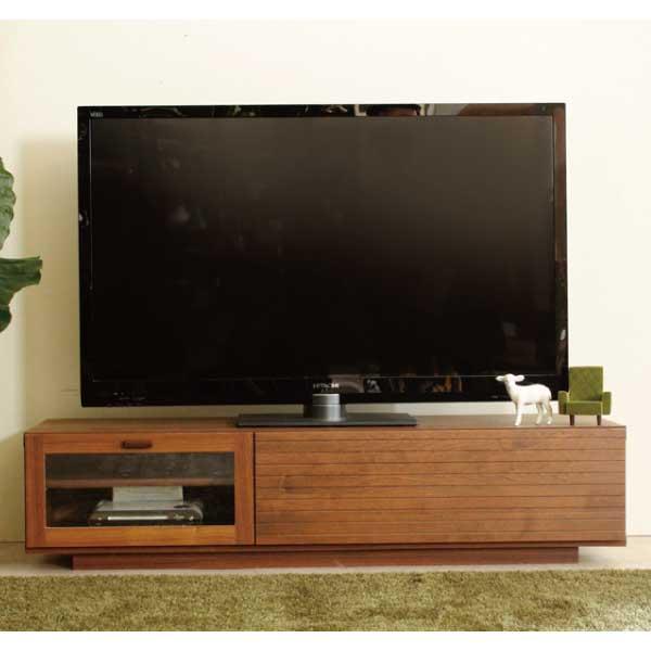 送料無料 130幅テレビボード アルダー  無垢材 ローボード 収納 テレビ台 日本製 国産 ナチュラル