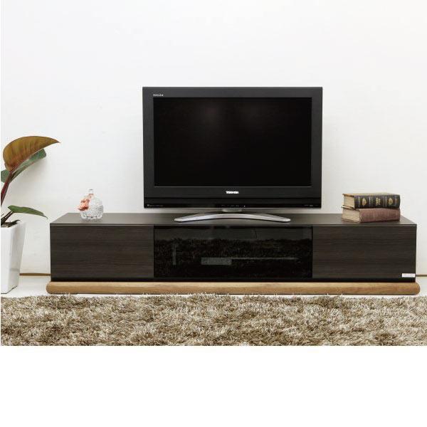 送料無料 160幅テレビボード ウォールナット無垢材 国産 TVボード テレビ台 ローボード 日本製 完成品 大型対応 モダンスタイル シンプルデザイン リビング家具 高さ調節 02P05Sep15