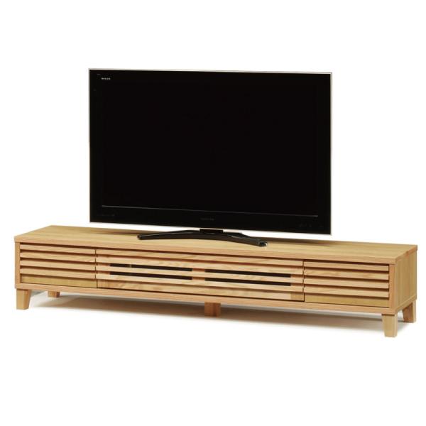 送料無料 180幅 テレビボード レッドオーク無垢材 ナラ オイル塗装 日本製 国産 TVボード テレビ台 引出し