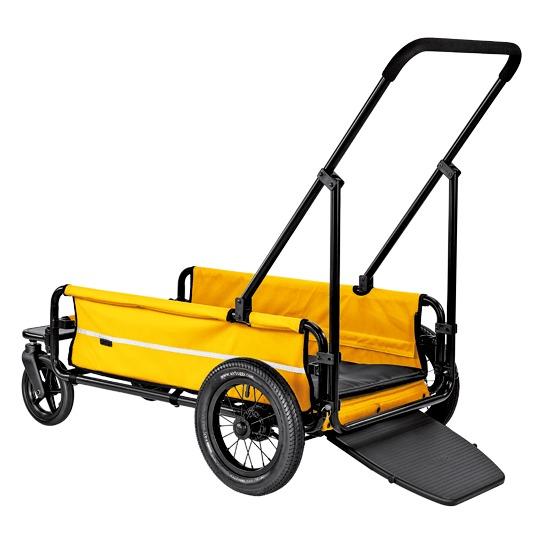 大型犬用に開発された耐荷重55kgの4輪カート※屋根部分 ルーフ は別売りです AirBuggy for dog CARRIAGE 最安値 エアバギー キャリッジ ドッグカート 贈答 台車部分 ペットカート