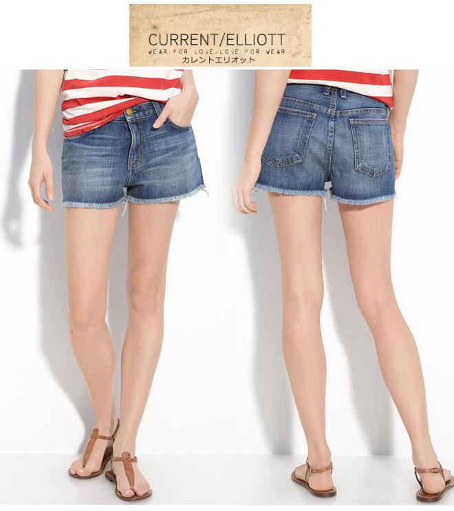 DENIM - Denim shorts Current Elliott Outlet Really Sale New VBdulo2