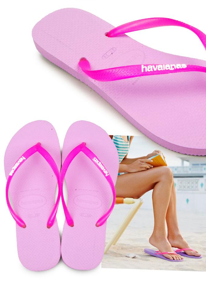 / During the Golden Week sale /GW Duke 2660 Yen Havaianas Havaianas flip flops slim strap Jerry color logo pop up Slim Logo Pop-UP Beach Sandal women's Sandals shoes store