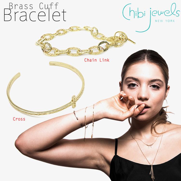 chibi jewels チビジュエルズ珊瑚モチーフ C型 バングル Coral Branch Cuff Bangle Gold 正規品 B033B