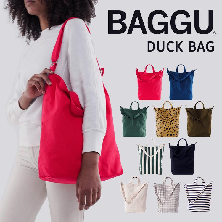 BAGGU バグー バグゥ バグ トートバッグ 2way ショルダーバッグ Duck Bag ダック キャンバスバッグ ゆうパケットで送料無料 DUCK