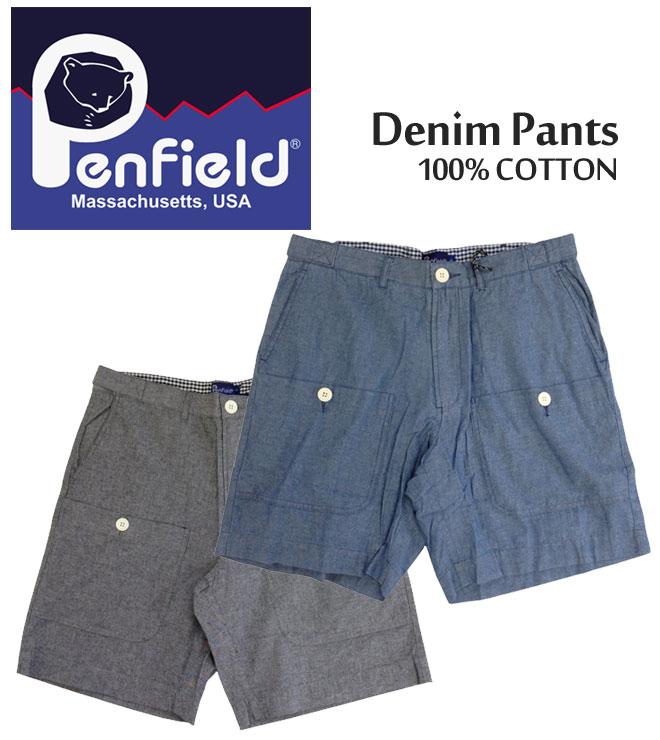 【3,000円ポッキリ!】PenField ペンフィールド ショーツ ショートパンツ Denim Pants デニム ハーフパンツ ボトムス メンズ 0040S11