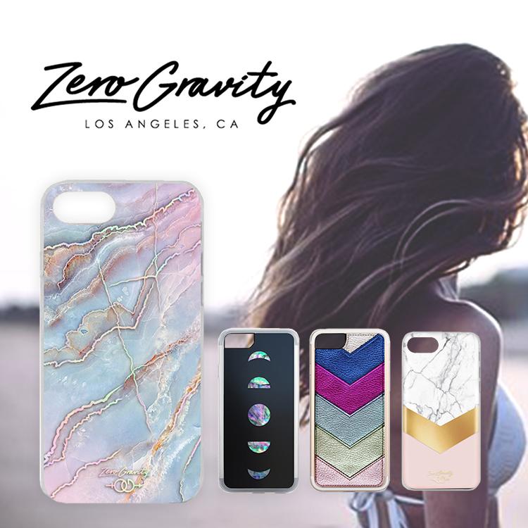 ZERO GRAVITY ゼロ グラビティ iPhone 7 / 8 Case USA LAブランド モバイルカバー アイフォン スマホケース 大理石 ストーン Mystic ミスティック インスタ セレブ メール便で送料無料 zg case