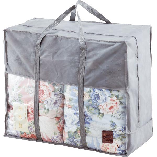 日本製 ウール10%入肌掛けふとん2枚セット 贈答品 内祝い お返し 出産内祝い 結婚内祝い 快気祝い 法要 香典返し お供え