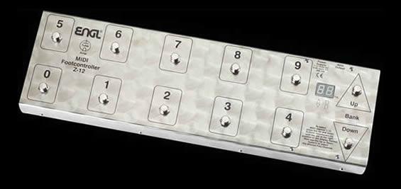 ENGL / Z-12 MIDI Foot Controller