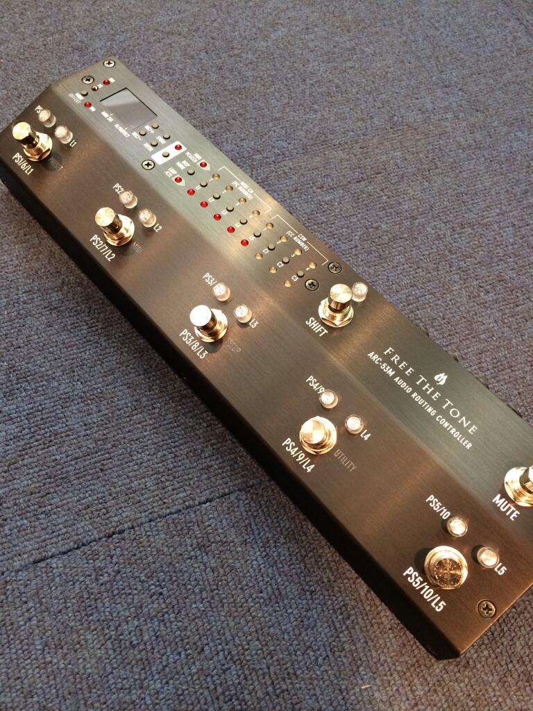 【受注生産商品:納期1~2ヶ月】Free The ToneRouting Controller ARC-53M<受注生産ブラックカラー>