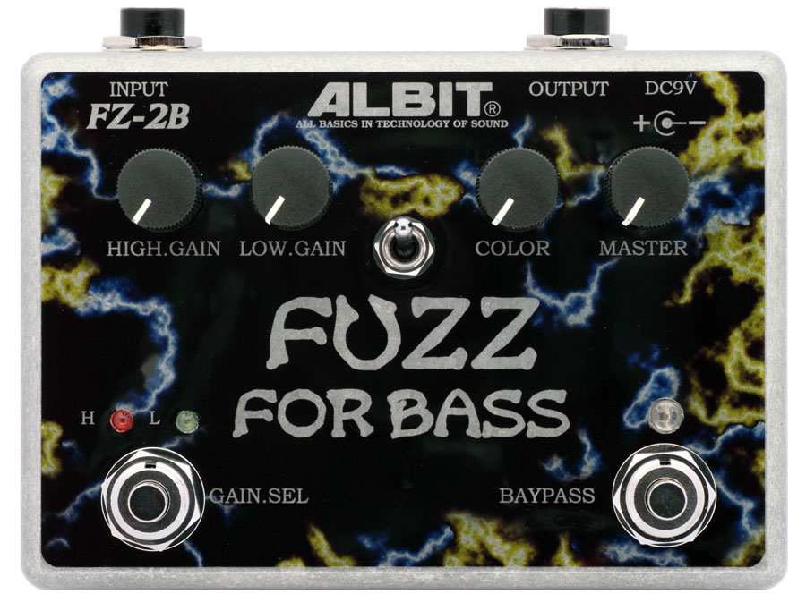 ALBIT FZ-2B FUZZ FOR BASS