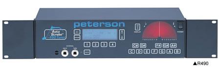 Peterson / Auto Strobe R490ストロボ・チューナー<ラック式>