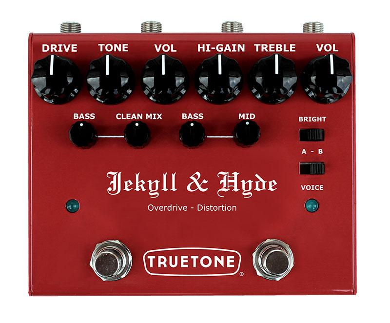 TRUETONE / V3 Jekyll & Hyde: オーバードライブ + ディストーション