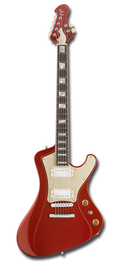 【新製品・受注生産】ESP STREAM-GT Classic / Candy Apple Red