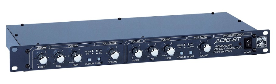 Palmer / PGA-05: ADIG-ST Stereo Speaker Simulator / No Load Box