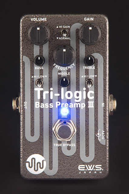 E.W.S / Tri-logic Bass Preamp 3
