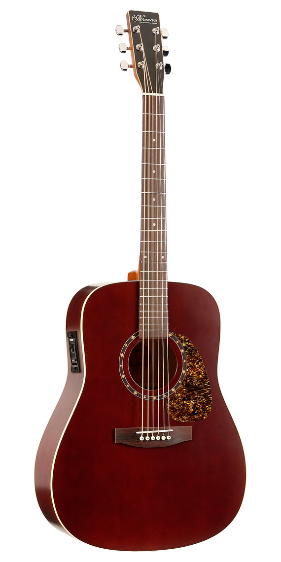 Norman Protege Series B18 Burgundy w/Presys with Fishman Presys