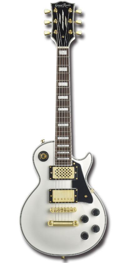 【ミニギター】GrassRoots G-LPC-MINI / WHITE