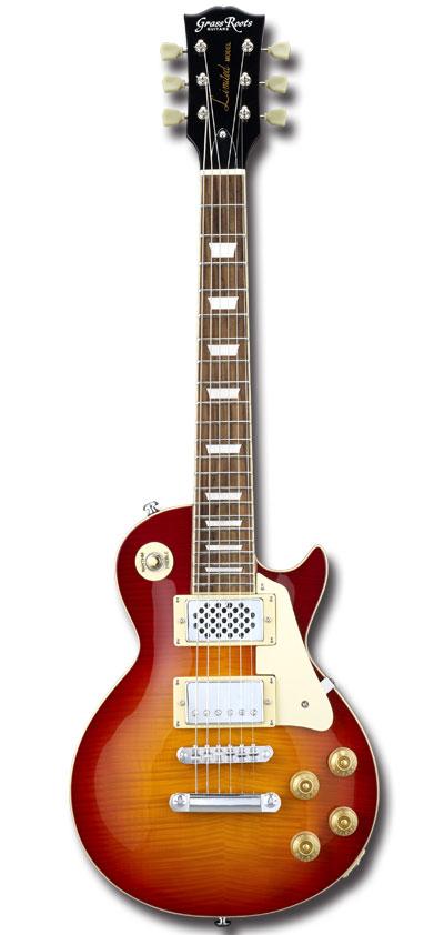 <title>受注生産 ミニギター GrassRoots G-LPS-MINI Cherry SunBurst グラスルーツ LP ☆新作入荷☆新品 Type LPタイプ アンプ内臓 エレキギター チェリーサンバースト</title>