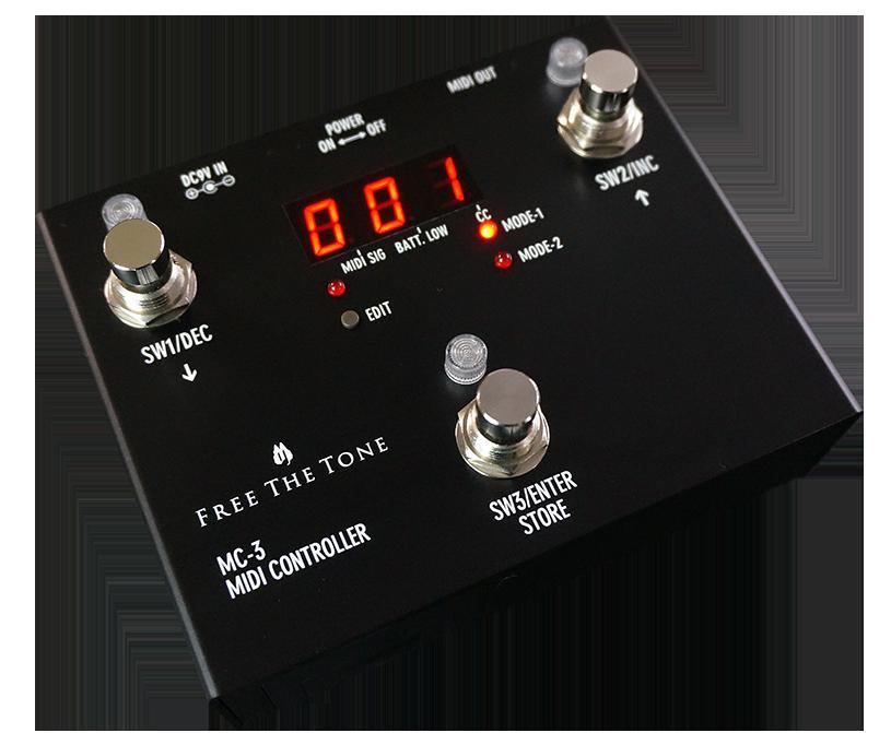 Free The Tone / MC-3(MIDI CONTROLLER)