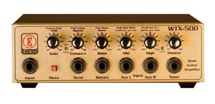 EDEN / WTX500 ベース・アンプヘッド