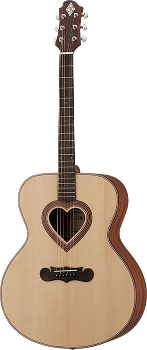 【アウトレット特価50%OFF】【アコースティックギター】ZEMAITIS JUMBO CAJ-100HW