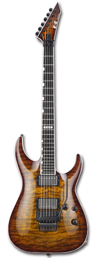 E-II HORIZON FR-II EMG / TGESB [ホライゾンタイプ][エレキギター][EMGピックアップ][国産,MADE IN JAPAN]