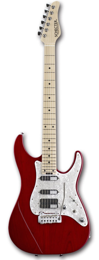 【予約商品】SCHECTER BH-1-STD-24 / RED (Maple Fingerboard)