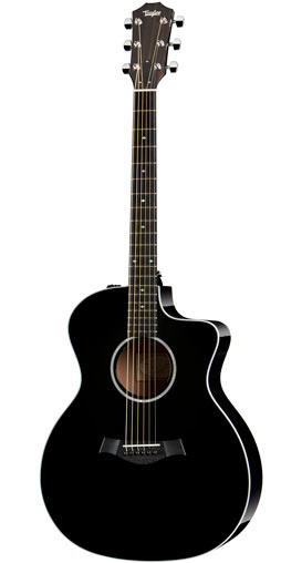 【エレアコギター】Taylor 214ce-BLK DLX