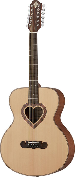 【12弦アコースティックギター】ZEMAITIS JUMBO CAJ-100HW-12