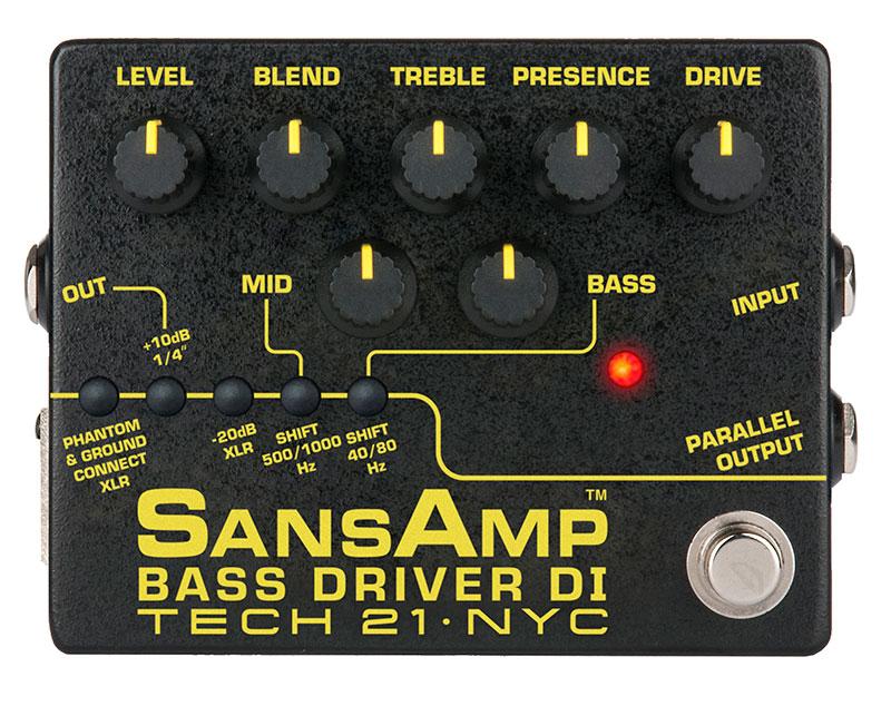 SANSAMP / Tech21 BassDriverDI-V2
