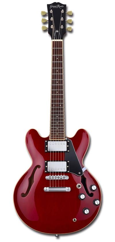 【ミニギター】GrassRoots G-SA-MINI/2H / Cherry
