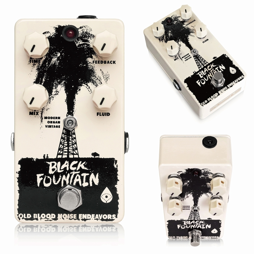 Old Blood Noise Endeavors Black Fountain Delay