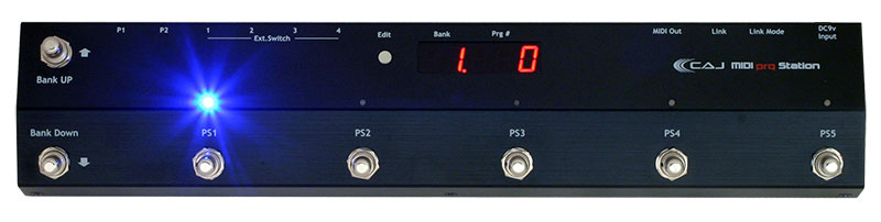 【新商品】CAJ / CAJ MIDI prg Station