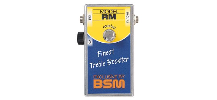 BSM / RM metalトレブル・ブースター