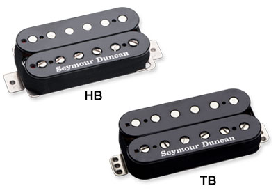 【新製品】Seymour Duncan Jason Becker Perpetual Burn / Black