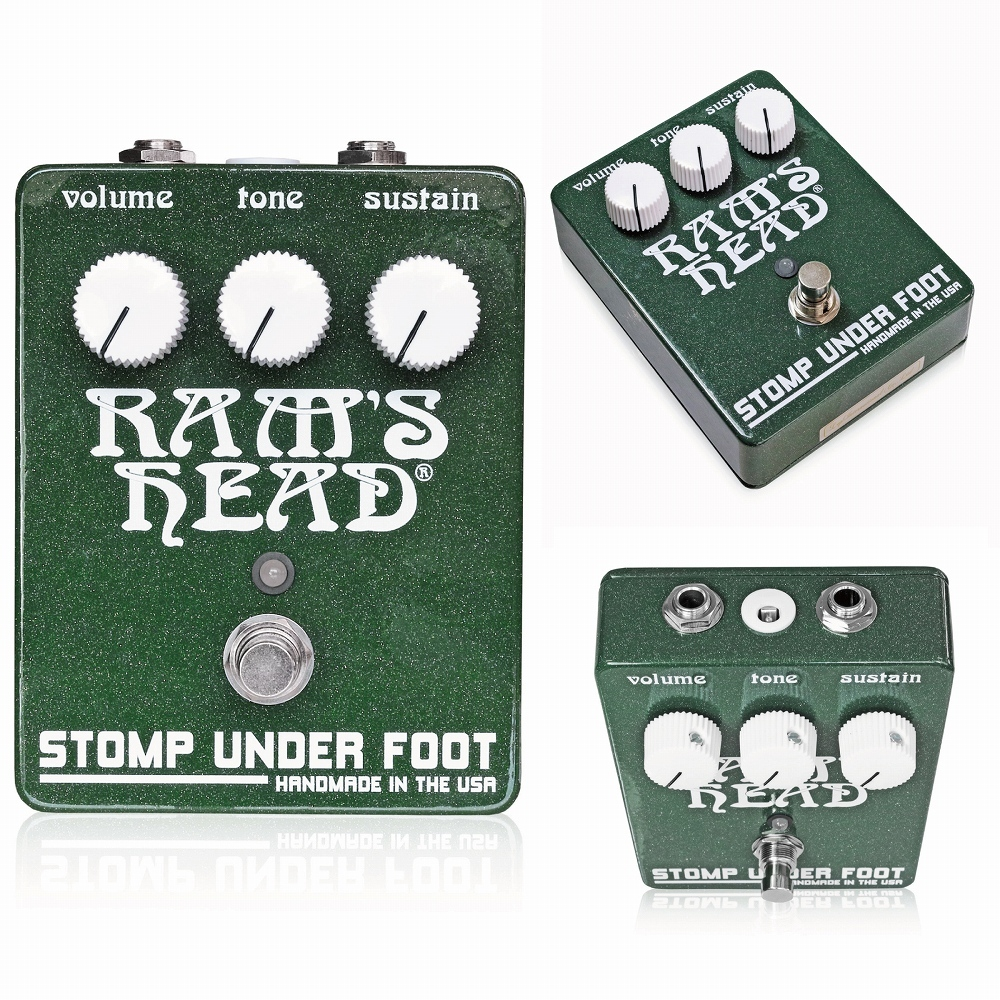 【ついに再販開始!】 Stomp Under Foot 1974 Ram's Stomp Under Ram's Head V2