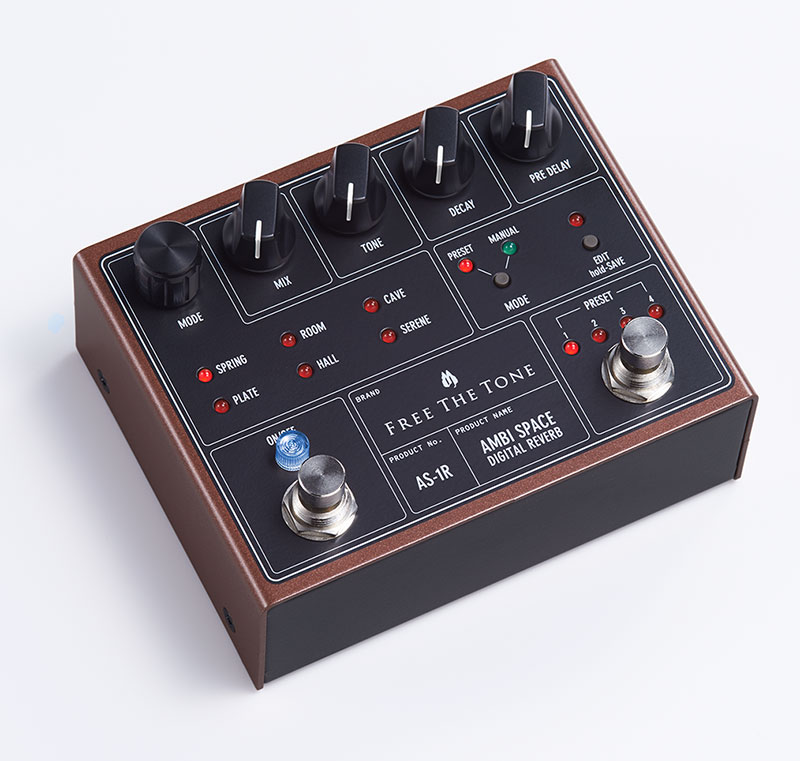 【新商品】Free The Tone / AMBI SPACE AS-1R (DIGITAL REVERB)