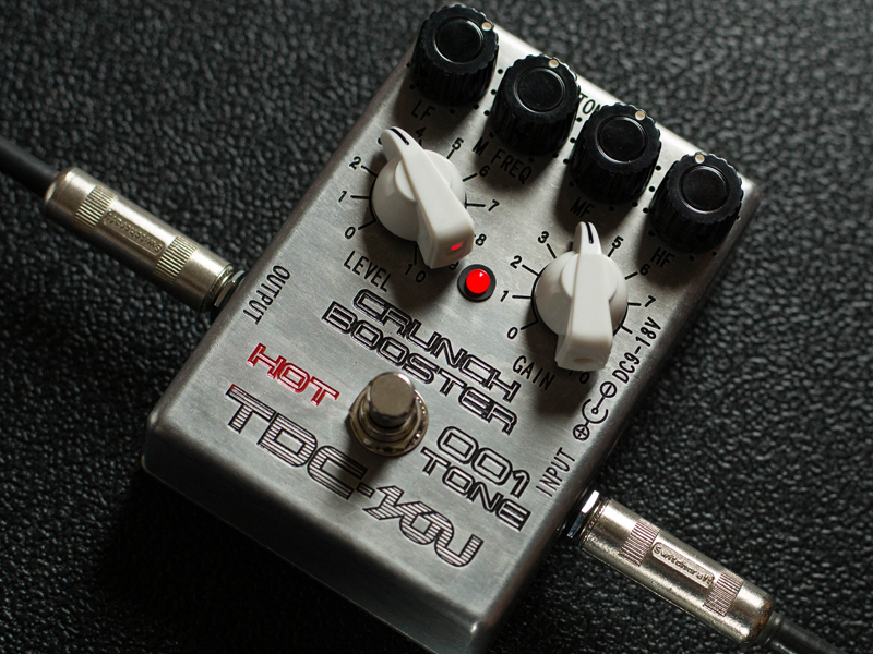 【受注生産】TDC-YOU 001 CRUNCH BOOSTER HOT TONE
