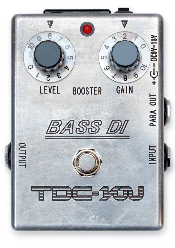 【新製品】TDC-YOU BASS DI